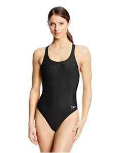EUC Black Bathing Suit One Piece Speedo Womens Pro LT Super Pro Swimsuit SZ 28/S