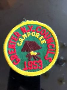 VTG BSA Patch Greater NY Councils Camporee Estate Sale Find Camping Americana