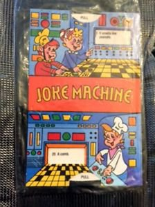 Kellogg�s Rice Krispies Joke Machine 1987 Cereal Box Toy Prize VTG SEALED Elves