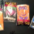 Lot  VTG Halloween Treat Bags Witch Ghost Spider Black Cat Jack O'Lantern 1995