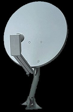 "18"" dish and dual lnb (dss lnbf)"