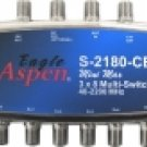 Eagle Aspen S2180CE Powered 3x8 Multiswitch