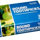 Royal Round Wood Wooden Toothpicks 800 Count Box