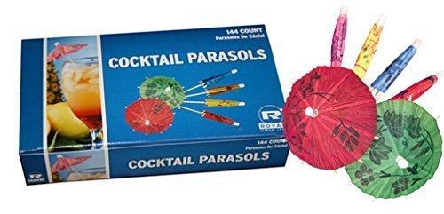 Royal Paper Cocktail Umbrella Parasols -144 Count