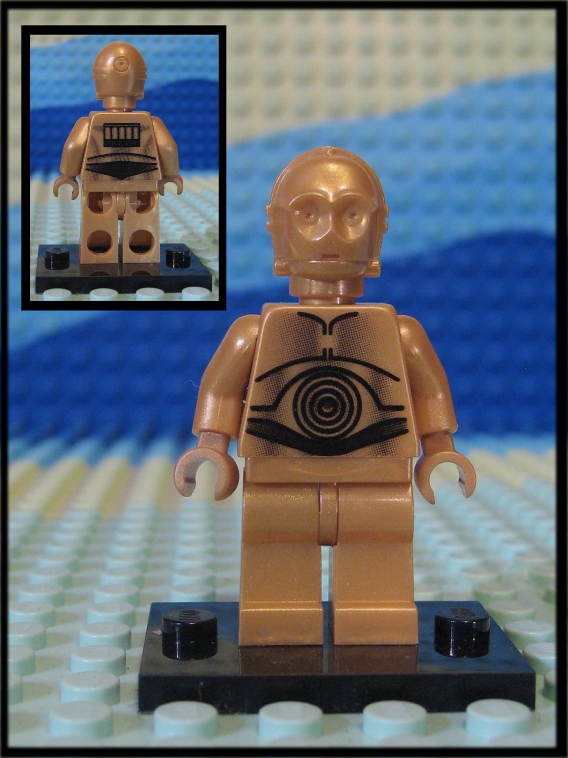 Genuine Authentic Star Wars Lego C-3PO