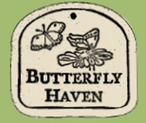 'BUTTERFLY HAVEN' Everlasting PLAQUE