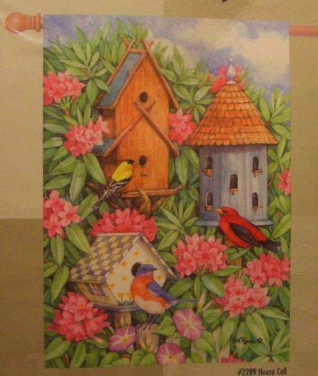 GARDEN FLAG 28x40  - House Call - TOLAND