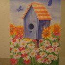GARDEN FLAG 28x40 - Field of Flowers - TOLAND