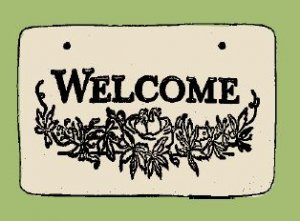 'WELCOME' Weatherproof SAYINGS Sign/Plaque