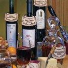 'GRAPEFUL DEAD' Humor on a Bottle Wine/Liquor TAG