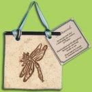 Elegant Decor BOTANICALS Dragonfly  STONEWARE