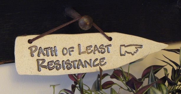 'PATH OF LEAST RESISTANCE'Home-Garden Decor DETOUR