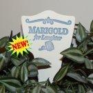 'MARIGOLD for Laughter' Garden Lore MARKER Stoneware