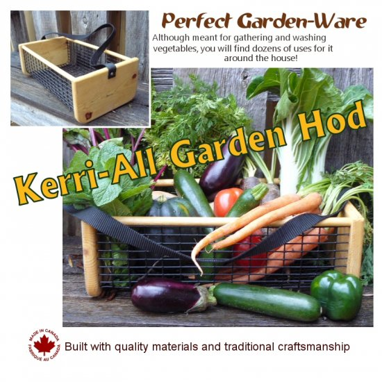 GARDEN HOD Kerri-All Harvest Basket ~MANY OTHER USES~