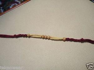 Tulsi/Basil Beads Rakhi By Teknowear