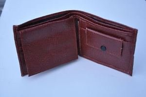 Wallet for Bills, Coin & A Photo Holder In Black & Brown Clr
