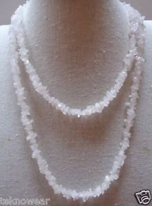 Chip Station Necklace OR Freshwater Blister Pearls/Stones Necklace by Teknowear