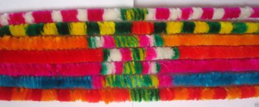 Pavitra Garland Multicolored Decorative for Prayers Gods Pavitra Agayaras
