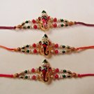 Rakhi in Ganesh/Elephant God Rakhi By Teknowear