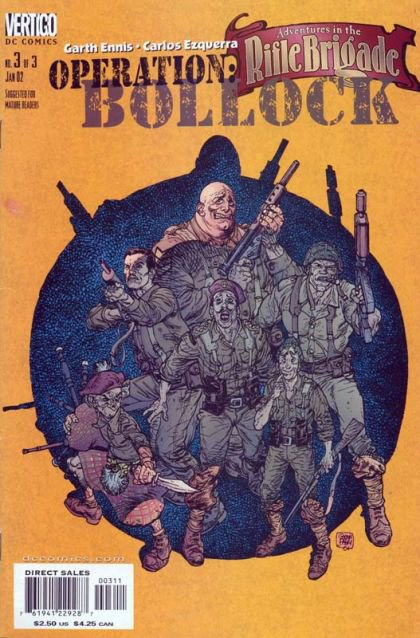 Adventures in the Rifle Brigade: Operation Bollock #3
