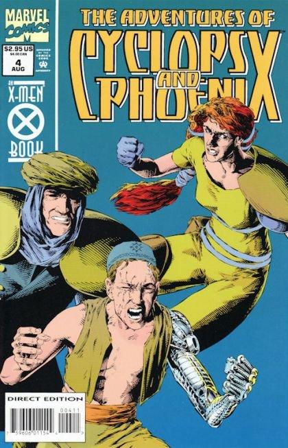 The Adventures of Cyclops and Phoenix #4