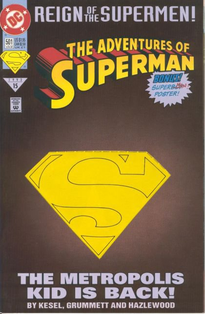 Adventures of Superman #501 B