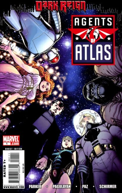 Agents of Atlas, Vol. 2 #1