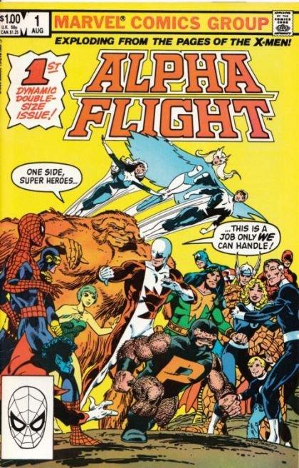 Alpha Flight, Vol. 1 #1 (First Appearance: Puck, Marrina)