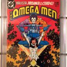 Omega Men, Vol. 1 #3 CGC 9.8 (First Appearance: Lobo)