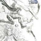 The Authority, Vol. 4 #1 (Variant Sketch Cover)