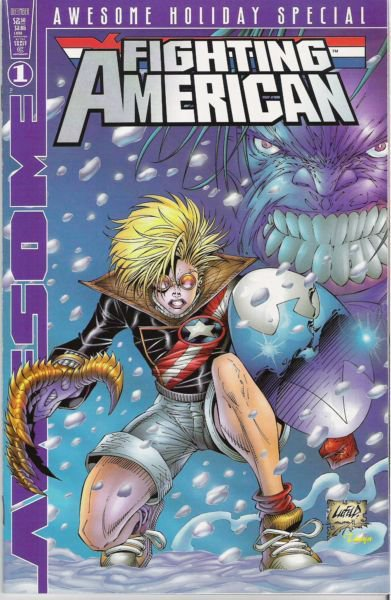 Awesome Holiday Special #1 (Fighting American / Coven Cover)
