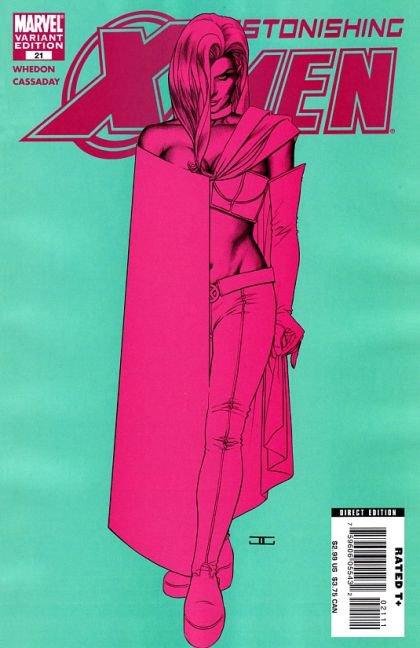 Astonishing X-Men, Vol. 3 #21 (White Queen Cover)
