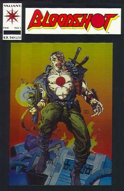 Bloodshot, Vol. 1 #1 (First Appearance: Para-Man II)