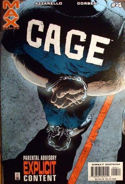 Cage, Vol. 2 #4