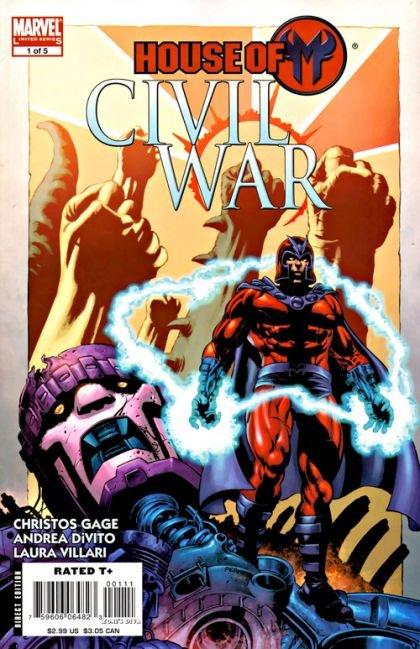 Civil War: House of M #1