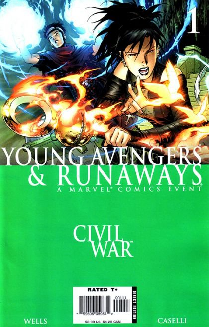 Civil War: Young Avengers & Runaways #1