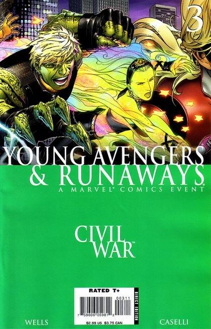 Civil War: Young Avengers & Runaways #3