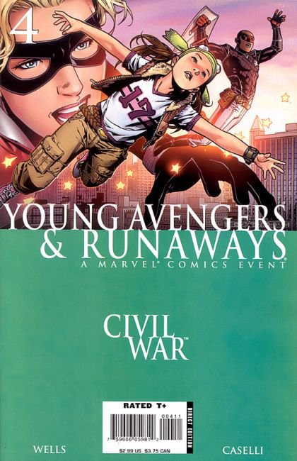 Civil War: Young Avengers & Runaways #4