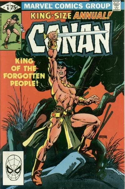 Conan the Barbarian Annual #6