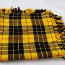 McLeod of Lewis Tartan Highland Kilt Fly plaid Shawl 48X48