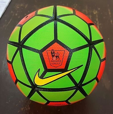 Nike Ordem Premier League 15/16 Replica Official Match Ball (Orange & Green)
