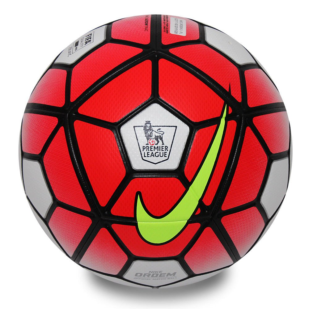 Nike Pitch EPL Barclays Premier League 15 16 Replica Soccer Ball Red ... 750ae9793b8f