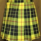 Macleod of Lewis Tartan Highland Scottish Mini Billie Kilt Mod Skirt Custom Size