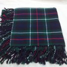 Active Men Scottish Makenzie Tartan 4way Purled & Fringed Fly Plaids 48 X 48