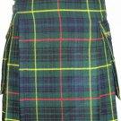 Custom Size Active Men Hunting Stewart Tartan New Kilt with Modern Pockets Scottish Highland Kilt