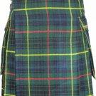 32 Size Active Men Hunting Stewart Tartan New Kilt with Modern Pockets Scottish Highland Kilt
