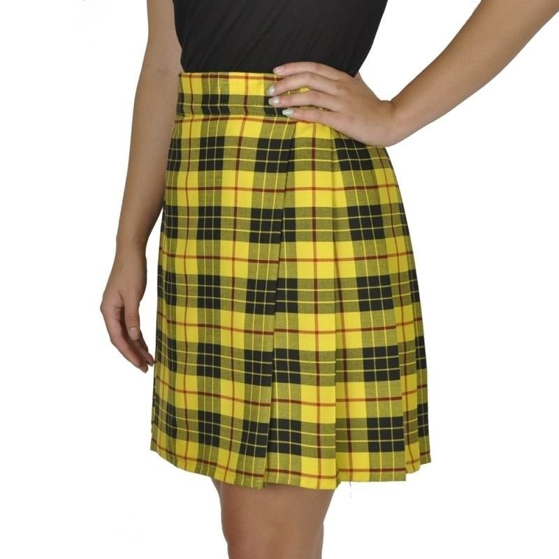 Macleod of Lewis Tartan Highland Scottish Mini Billie Kilt Mod Skirt 36 Size