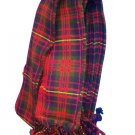 Cameron Tartan 8 oz. Tartan Piper Plaid Pleated 3.5 Yard.