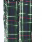 Mekanzei 8 oz. Tartan Piper Plaid Pleated 3.5 Yard.