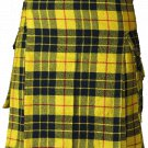 52 Size McLeod of Lewis Highlander Utility Tartan Kilt for Active Men Scottish Deluxe Utility Kilt